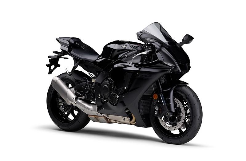 YZF-R1 warna hitam