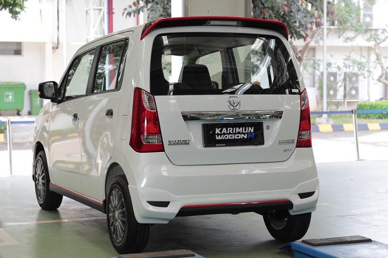 Interior Suzuki Karimun Wagon R 50 tahun anniversary edition