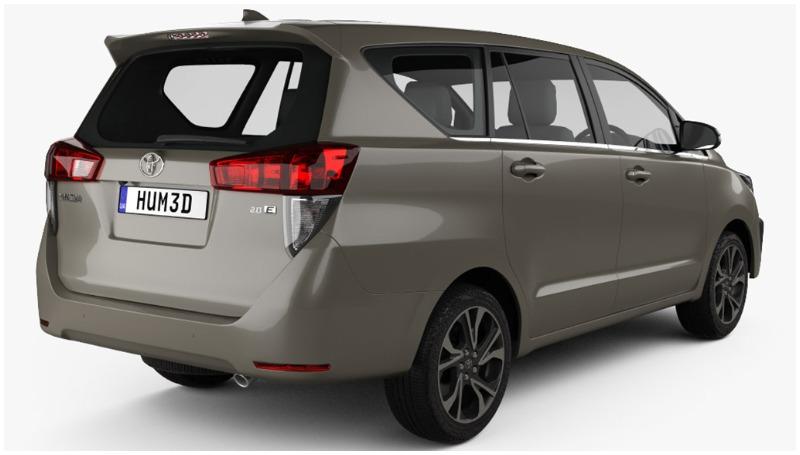 Ubahan Toyota Kijang Innova facelift
