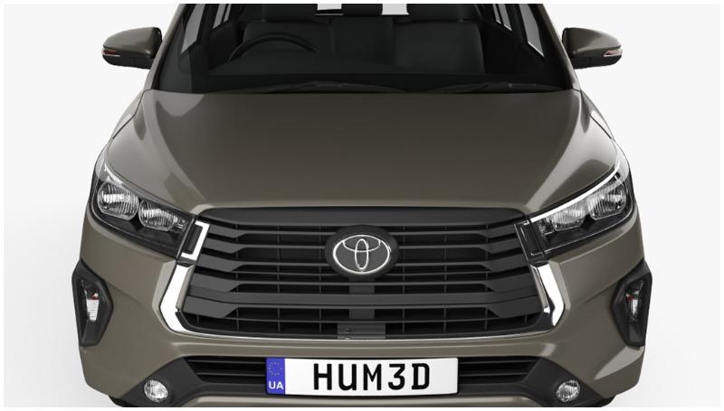 Desain bumper Toyota Kijang Innova facelift