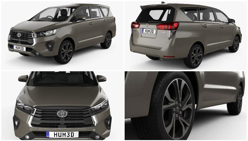 Rendering Toyota Kijang Innova facelift