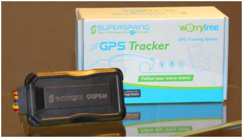 GPS tracker Super Spring