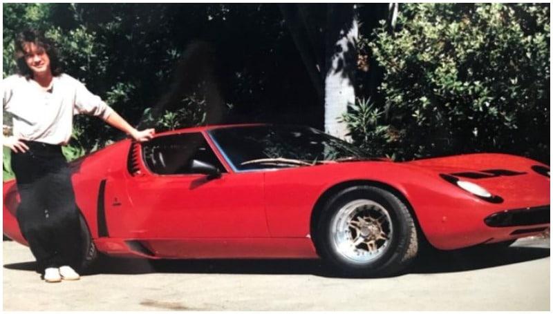 Lamborghini Miura, koleksi mobil Eddie Van Halen yang cukup bersejarah